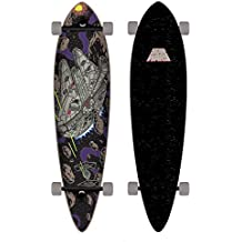 Santa Cruz Skateboard Longboard Star Wars Millenium Falcon Pintail - Longboard, talla 9.5 x 39.0 Zoll