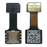 Velidy Dual SIM Karte Micro SD Adapter für Android Extender Nano SIM Micro SIM Mini SIM Adapter für XIAOMI REDMI Note 3 4 3 s pro Max (Black Nano SIM)