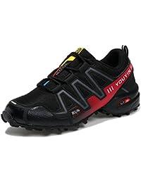 YIWANGO Scarpe Da Ginnastica Per Uomo Outdoor Sport Scarpe Da Trekking  Scarpe Da Trekking Scarpe Da Montagna Arrampicata… 1c84ed81b69