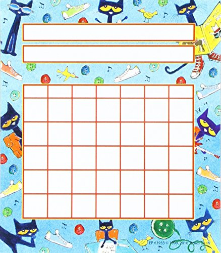 PETE THE CAT INCENTIVE CHARTS -