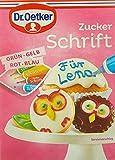 Dr. Oetker Zuckerschrift, 17er Pack (17 x 100 g)