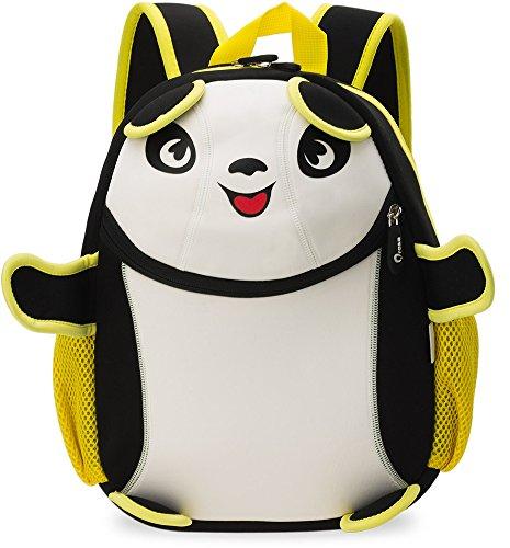 Kinder- Rucksack Wasserdicht Kindergartentasche Ausflug Freizeittasche Tier – Motiv Panda