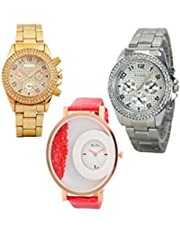 Capture Fashion Multicolor Analog Watch For Women