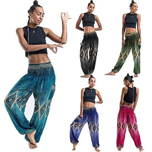 Yoga Pantalones Mujer Deportivas Trousers Boho Festival Hippy Leggins