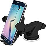 Abronix® Cars Mobile Phone Holder For Windshield 360 Degree Swivel Extendable Mount Cradle Mobile Universal Cradle Adjustable Windshield Holder Cradle With Strong Sticky Gel Pad For IPhone 6S/6s Plus/6/6 Plus/5S/5C/SE, Galaxy Note 4/3, Galaxy S5 S6/ S