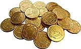 Gold Milchschokolade Euro-Münzen (Packung mit 24)