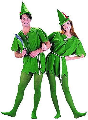 Peter Kostüm - Charades Men's Peter Pan Fancy Dress