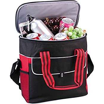 Puregadgets© Extra Large 17L Cooler Cool Bag Box Picnic Camping Food Drink Lunch Festival Shopping Outing Car Fishing Hiking Ice 34 Cans