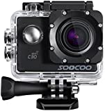 Sports Camera, SOOCOO C30 Action Camera 4K 20MP 2.0 Inch Waterproof Diving Camera with 2 Batteries and Accessories Kit Included - Wifi (Micro SD Card Included) ...