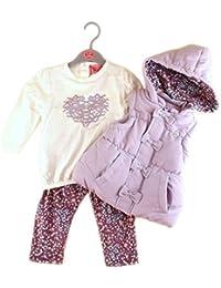 Mellow Be - Chaleco - chaqueta guateada - para bebé niña