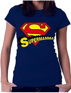 Tshirt super mamma - festa della mamma - love - Tutte le taglie by tshirteria