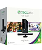 Xbox 360 E 4Gb, Mando + Kinect + Kinect Adventures + Kinect Sports Ultimate Collection - Schwarz