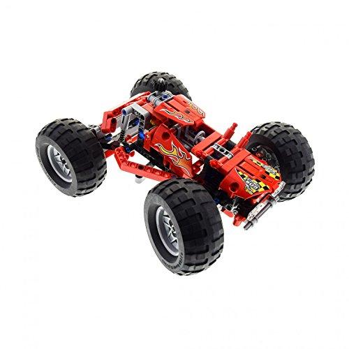 Preisvergleich Produktbild 1 x Lego Technic Set Modell Off-Road 42005 Monster Truck rot Auto Technik incomplete unvollständig