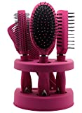 Unisex True Face Grooming Hair Brush Set Pink