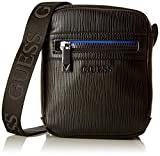 Guess The Modern Mini Document Case, Borsa Messenger Uomo, Nero (Black), 14.5x18x4 cm (W x H x L)