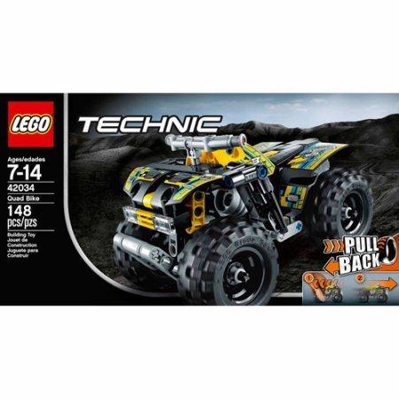 148 Pieces LEGO Technic Quad Bike Model#42034 by LEGO