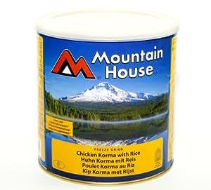 Emergency Food: Mountain House Freeze Dried Tin Chicken Korma Curry Serves 7