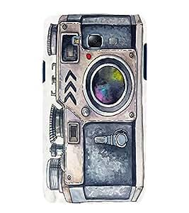 FUSON Rangefinder Camera Isolated 3D Hard Polycarbonate Designer Back Case Cover for Samsung Galaxy J7 J700F (2015) :: Samsung Galaxy J7 Duos (Old Model) :: Samsung Galaxy J7 J700M J700H