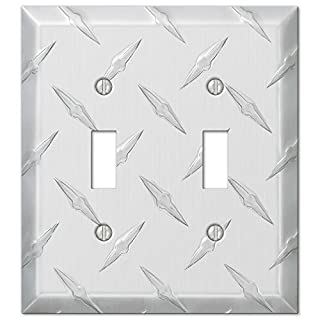 955tt Wallplate 2tog Diamond C by Amerelle