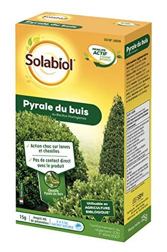 Solabiol SOPYRAL15 Pyrale du Buis Bacillus - Traitement Choc -...