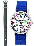 Pacific Time 11110 Montre d'apprentissage pour garçon avec 2 changements de Bracelet...