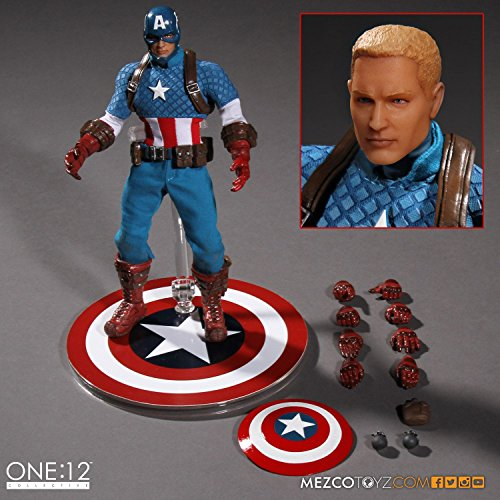 Marvel 76251 - Captain America Modern collector figure, 1 Scale: 12
