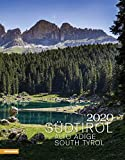 Südtirol. Wandkalender 2020. Monatskalendarium. Spiralbindung. Format 30 x 38,5 cm -