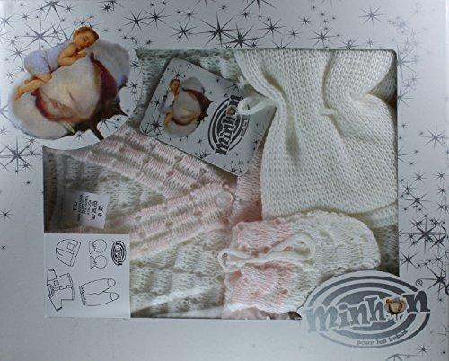 88ffa87ee932 COFFRET NAISSANCE bebe 4 pièces, BRASSIERE idee cadeau bébé 0 à 3 mois BcRs-