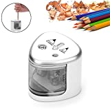Electric Pencil Sharpener,Aolvo Automatic Colored Pencil Sharpener Powered By Battery Safety For School
