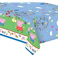 Peppa Pig Cute Carnival Birthday Children's Party Plastic Table Cover