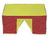 Betzold 58813 - Tischzelt rot - Spielzelt für Kinder mit Fenster, Kinderzelt, Spielhaus, Zimmerzelt