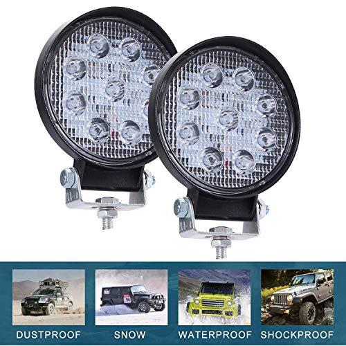 CICMOD 2 Pzs Faro LED Trabajo, 9-30V 90W 9000lm Focos LED Tractor...
