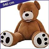 Großer Teddybär 340 cm Braun
