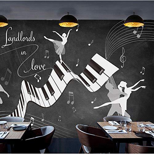 Fototapete Reminiszenz Vintage Ballett Kostüm 3D Wand Wohnzimmer Sofa TV Hintergrund Wand wasserdicht Fresko 3D Tapeten-300cmx240cm (300 Kostüm Für Verkauf)