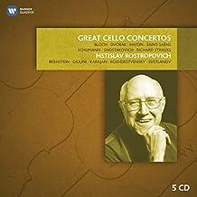 Mstislav Rostropovich : Grands concertos pour violoncelle (Coffret 5 CD)