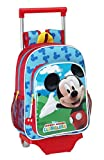 Mickey Mouse - Mochila infantil con ruedas (Safta 611539020)