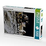 Mondlandung im Comic-Stil 1000 Teile Puzzle Hoch