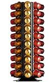 Döring Kapselspender, Kapselhalter CoffeeTower 80-fach schwarz für Nespresso