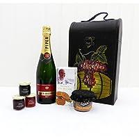 Piper Heidsieck Champagne con productos delicatessen - un regalo encantador para el cumpleaños, como agradecimiento, aniversario