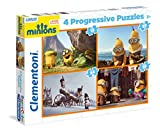 Clementoni - Puzzle progresivo, Minions (215119)