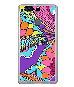 Fuson Designer Back Case Cover for Huawei P9 (Girl Friend Sister Mother Wife Lifepartner Father Temple Religious)