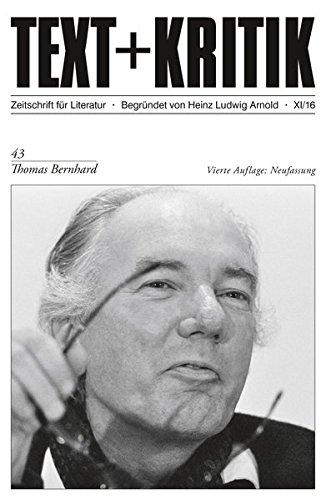 Thomas Bernhard (TEXT+KRITIK)