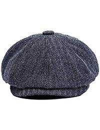Yukeyy Gorros de Boina de Tejer Para Hombre Sombrero de Invierno al Aire  Libre Ajustable 3d4efe61244