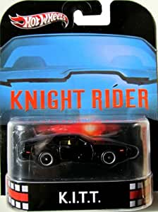 Cool Knight Rider K.I.T.T. 2013 RETRO Hot Wheels 1:64 Scale Die Cast For Kids and Collectors Toy / Game / Play / Child / Kid