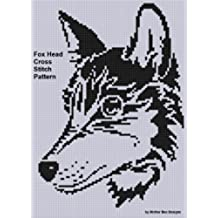 Fox Head Cross Stitch Pattern (English Edition)