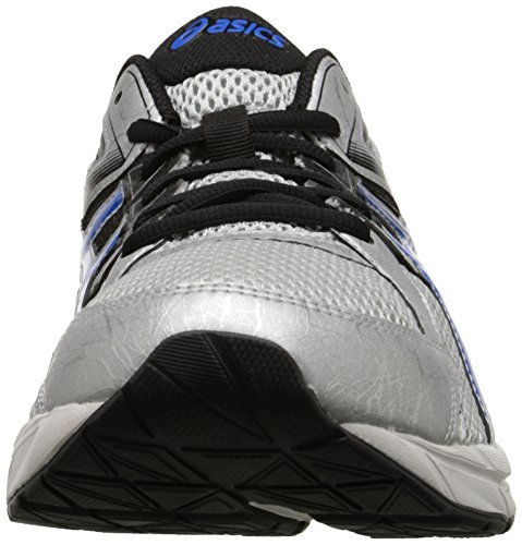Asics Mens Gel-Contend 3 Running Shoe Silver/Electric Blue/Black