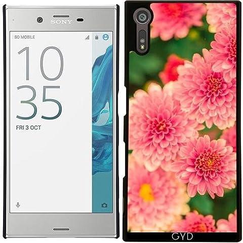 Funda para Sony Xperia XZ - Dalias Rosadas Flores Floral by Petra