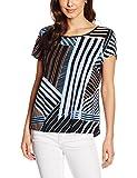 SAINT TROPEZ Damen Bluse N1367, Mehrfarbig (Infinity 9269), 36 (Herstellergröße: S)