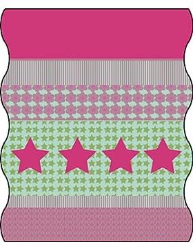 Bambini multi funzione Lässig Tuch Twister Kids in pile Starlight Magenta, multicolore, taglia unica, LTEXT22049