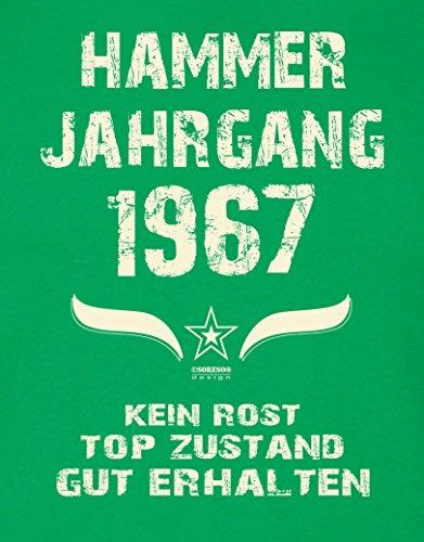 Geschenk Zum 50 Geburtstag Herren Geburtstagsspruchetshirt Hammer